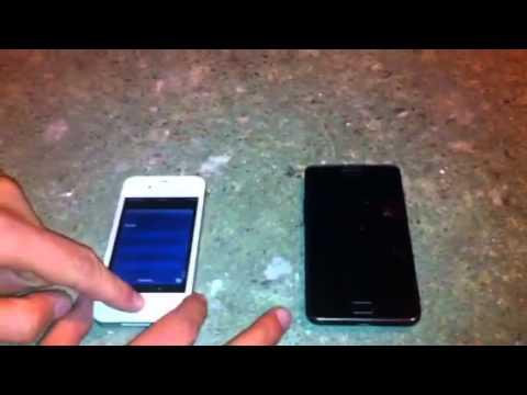 Iphone 4S vs Galaxy S2 — насколько они выдержат мороза