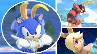Who Can Survive the Big Blue in Super Smash Bros Ultimate? (All Characters Racing On Big Blue)