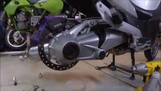 5. BMW R1200RT Final Drive Maintenance oil and spline lube