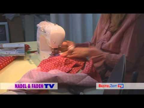 Bastelzeit TV 33 - Tilda rundes Kräuselkissen