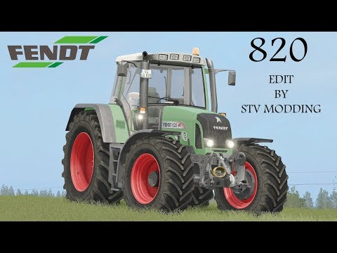 Fendt 820 Vario TMS v1.3.0.0 MR Final