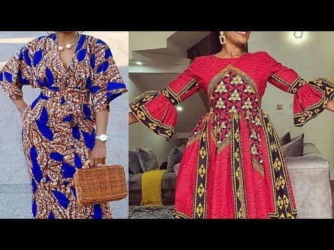 2020 AFRICAN DRESSES: 50+ UNIQUE AND FASCINATING AFRICAN ANKARA STYLES FOR ALL BEAUTIFUL LADIES