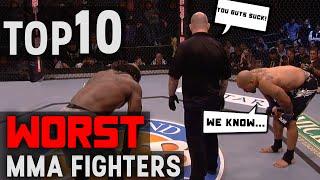 Video TOP 10 Worst MMA Fighters MP3, 3GP, MP4, WEBM, AVI, FLV Oktober 2018