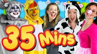 Video Old MacDonald Had a Farm & More! 35mins Kids Songs Collection Compilation | Bounce Patrol MP3, 3GP, MP4, WEBM, AVI, FLV September 2018