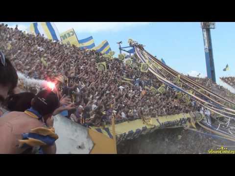 """Video - Únicos e Inigualables. """"Recibimiento"""" Rosario Central (Los Guerreros) vs Pechos Frios - Los Guerreros - Rosario Central - Argentina"""