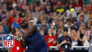 J.J. Watt Charity Softball Game Highlights | NFL by NFL