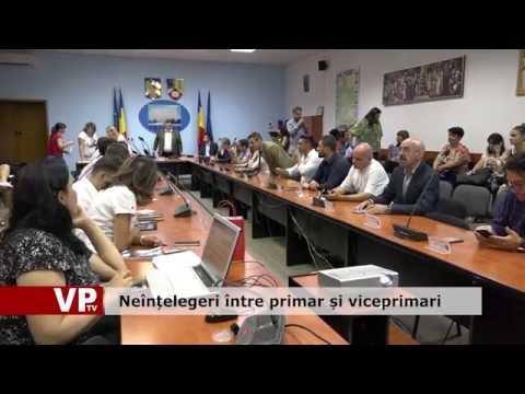 Neînțelegeri între primar și viceprimari