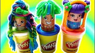 Channel Baby - Đồ Chơi Đất Nặn Play Doh Salon Cắt Tóc Và Tạo Kiểu Tóc