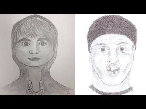 Funny pics - Hilarious Police Sketches That Were A Crime To Release  Funny Pictures