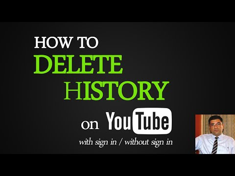 Watch 'How to Delete Youtube History with sign in '
