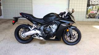 3. Honda CBR650F Start Up / Exhaust Video | CBR 650 Sport Bike Motorcycle