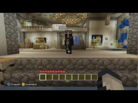 Minecraft Xbox360 - Castillo de Hielo