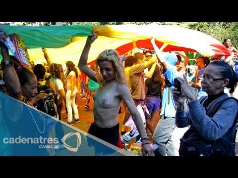 Así se vivió la marcha 'gay' en la Ciudad de México
