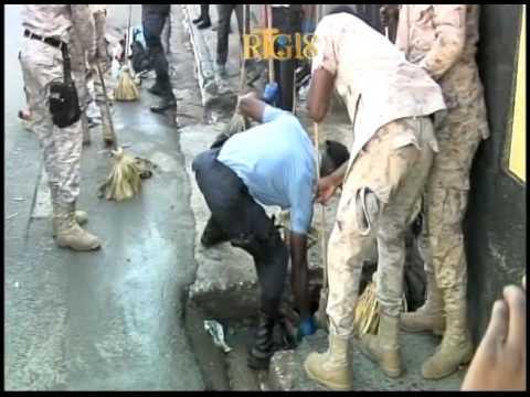Police Nationale d'Haïti / Campagne assainissement