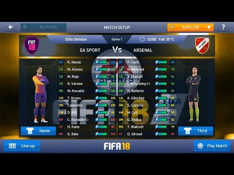 Download Dream League Soccer 17 Mod FIFA 18 Offline Full Version & Transfer Pemain