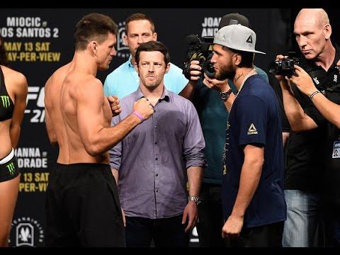 UFC 211: Encarada entre Demian Maia e Jorge Masvidal