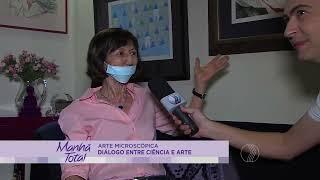 Maria Inês no Programa Manhã Total 30/04/2015