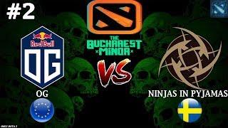 OG vs NIP #2 (BO3) | The Bucharest Minor