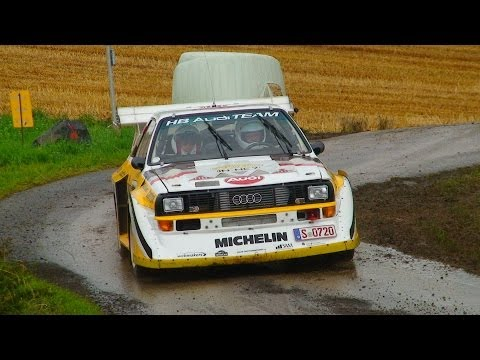 best of historic rally car - pure sound engine