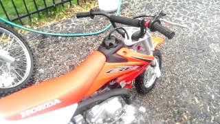 10. Honda CRF50F and CRF125F (Big Wheel) walk around