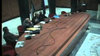 Assemblea ex Parlamentari - Secondo intervento del Dott. De Rita