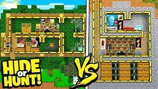 SECRET TREE HOUSE vs SECRET underground BASE! - Hide Or Hunt #7