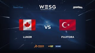 Fujitora vs Luker, game 1