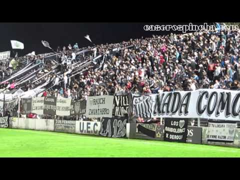 La tribuna de Estudiantes contra Almirante, desde adentro de la cancha (CaserosPincha.com) - La Barra de Caseros - Club Atlético Estudiantes