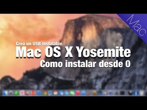 osx - En este tutorial os muestro paso a paso y con detalle como crear un USB instalaste con Yosemite Mac OS X. Al final del vídeo también muestro detalladamente c...