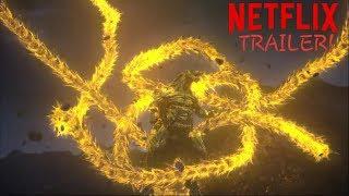 GODZILLA The Planet Eater Netflix Trailer (English)