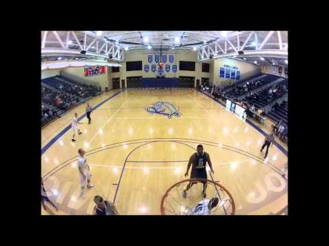 Jarrett Ruffin dunk vs. Pitt-Greensburg (11/20/12)