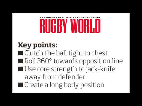 Mini rugby video: How to jack-knife roll