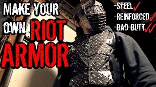 How to Make: Steel RIOT Armor (Signature ZNA Armor UPGRADE)