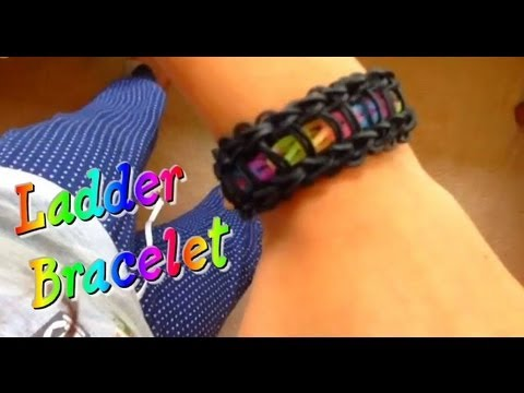 ladder - Thanks so much for 11000 ! 1000 in a day! that's awesome thanks so much and i hope u guys enjoined thee ladder bracelet tutorial.