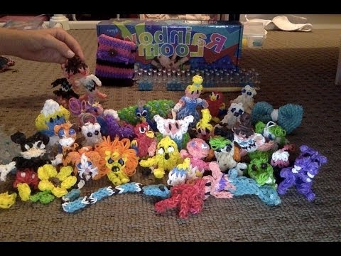 All Of My Rainbow Loom Charms!!
