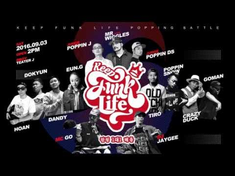 POPPIN J - Judge Showcase @Keep funk life vol.1
