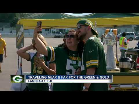 Packers fan travels 4,000 miles for game