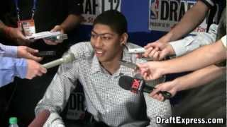 Anthony Davis 2012 NBA Draft Media Day - DraftExpress
