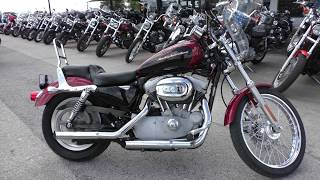 5. 450612 - 2006 Harley Davidson Sportster 883 Custom   XL883C - Used motorcycles for sale