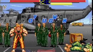 Mega Drive Longplay [473] Art of Fighting
