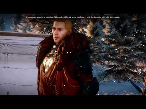 Dragon Age Inquisition - First Cullen Conversation (Cullen Romance PC Part 1)