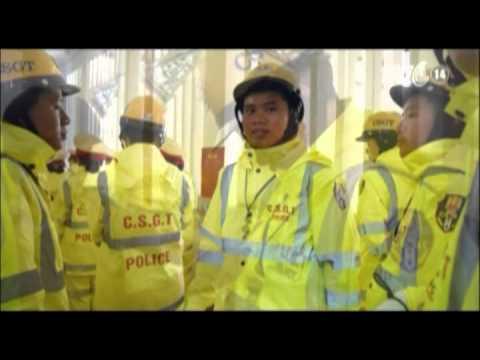 CSGT Hà Nội có áo mưa mới tiêu chuẩn châu Âu