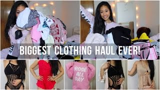 Hi loves! Grab a drink and some snacks because today's video is my biggest clothing haul EVER! I have clothes from Zaful, Forever 21, Victoria's Secret, Tiger ...