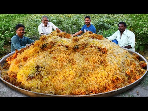 Traditional Chicken Biryani By Our Grandpa | Chicken Dum Biryani Different Style