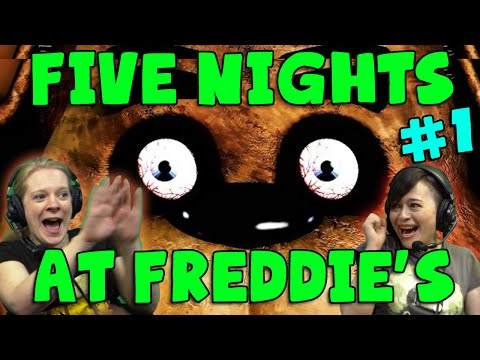 Fright - Kim and Hannah see if they can survive Five Nights at Freddie's! Next Episode: https://www.youtube.com/watch?v=-v6ILFivyOo&list=PLlSBsxKnPs6TnmF3PmEYNxgwOiHrs9tU8&index=38 More Fright Night:...