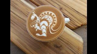 Video Latte Art 'Kangaroo' by Elvis - Seivijus Matiejuna MP3, 3GP, MP4, WEBM, AVI, FLV Juni 2018