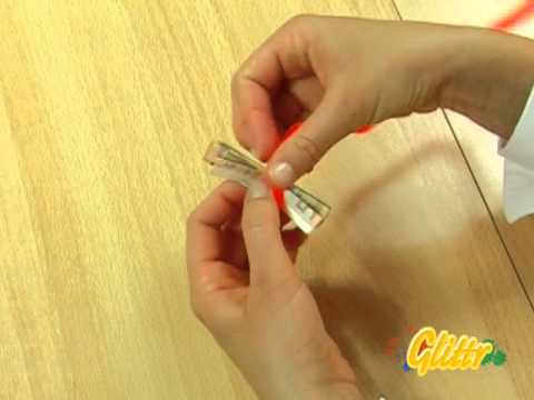 Geldscheine falten - Geldgeschenke basteln - Schmetterling - Grundlagen