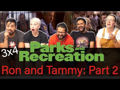Parks and Recreation - 3x4 Ron and Tammy 2 - Group Reaction