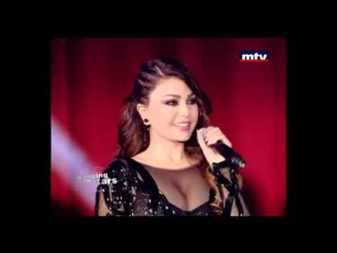 fadiha hayfaa wahbi - Haifa Wehbe's Full Performances on Dancing With The Stars ~ Lebanon January 13, 2013.