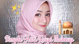Video Simple Hari Raya Makeup Tutorial | Eid - Lebaran [LOKAL-DRUGSTORE] MP3, 3GP, MP4, WEBM, AVI, FLV Oktober 2018
